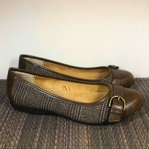 Croft & Barrow Ortholite Plaid Flats 9M